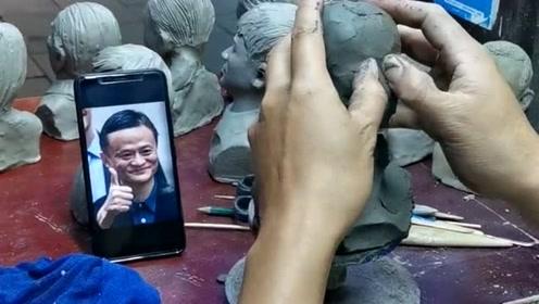 泥塑是中国的传统工艺,大叔一直在坚持制作,你们觉得这手艺怎么样?