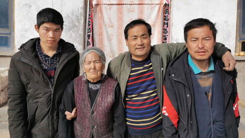 49岁农民3个娃2个智力障碍,梦想让三个孩子讨上媳妇