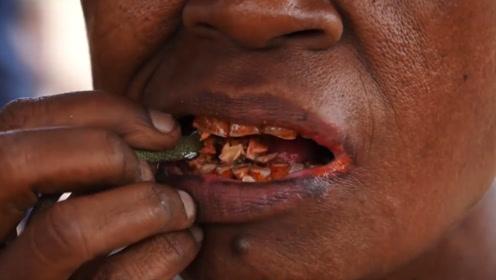 连吃10年槟榔,人体会产生哪些变化?医生:一开口我就想吐!