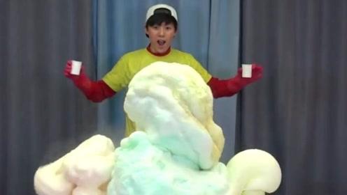 """世界上最大的""""大象牙膏"""",泳池装不下,熊孩子眼睛都看直了!"""