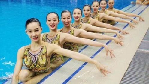 应对内急?花样游泳选手为何佩戴牺牲美观之物,会游泳的人都懂!