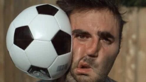 足球砸到脸上有多疼?镜头放慢1000倍,看完笑出猪叫声!