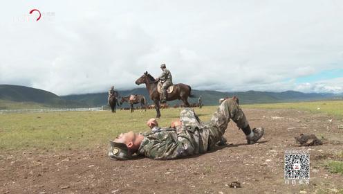 《我的军旅梦》花絮:学员花式摔马 无一幸免