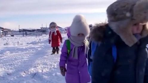 世界上最冷的村庄,最低气温-71.2℃,当地居民是如何生存的