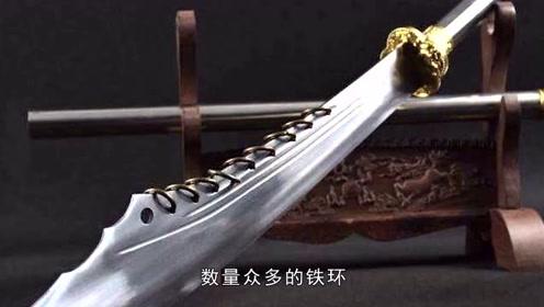 古代大刀上为何要装着铁环?工匠:看到手持九环刀者,一定要远离