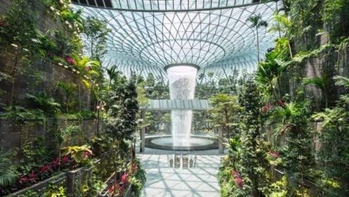 耗资13亿打造室内最大瀑布,游客纷纷驻足欣赏,这是在哪里呢?