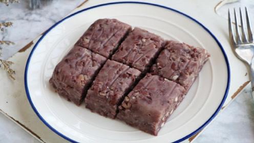网友称比年糕好吃东西,加半碗糯米粉,吃着软软糯糯,做法超简单