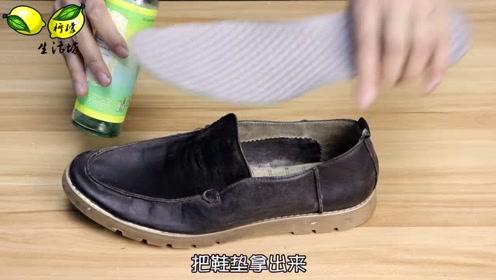 鞋子里丢一把小苏打,没想到有这么棒效果,太聪明了,学会放心上