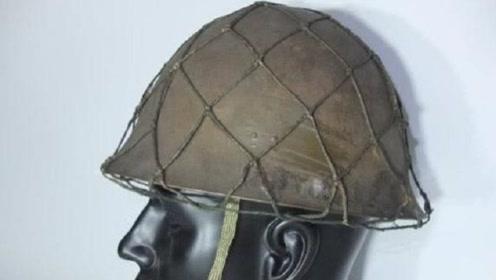 为何二战时的军用头盔上都有一张网?专家:这能救命!