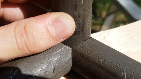 圆管怎么无缝焊接?国外老师傅亲自示范,看完你就全明白了!