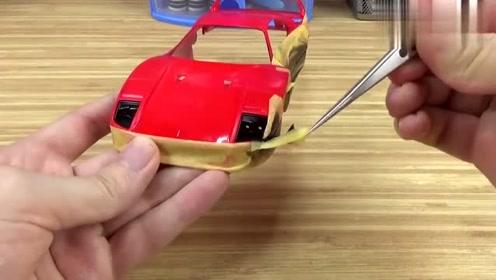 一辆普通汽车模型,硬是给牛人玩出了高级感,真是太牛了!