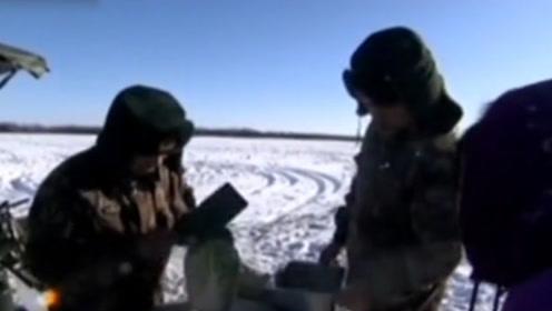 零下几十度边关炊事兵户外做饭,白菜都剁不动,向他们致敬!