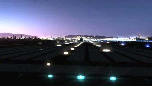 网红机场它来啦!黎明破晓,第一架飞机起飞,猜猜它是哪个机场