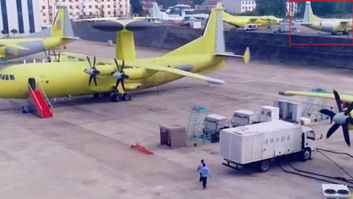 中国特种机家族枝繁叶茂,刚下线新机挤爆停机坪,新型特种飞机意外亮相