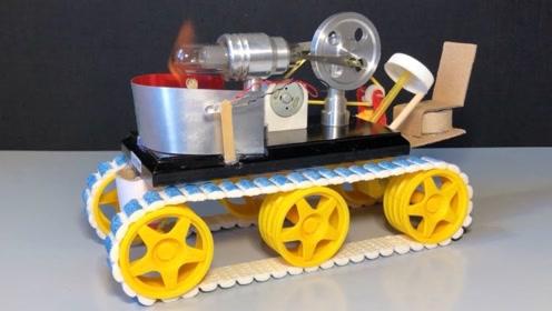 蒸汽机玩具车!