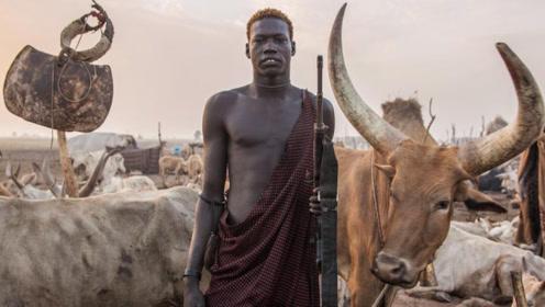 全球人最高的民族,平均身高1.82米,娶老婆必须用牛做聘礼!