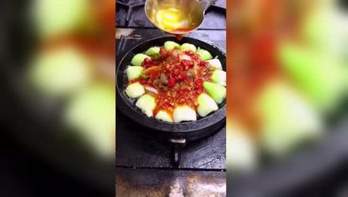 第一次看见煮上海青也那么有食欲!