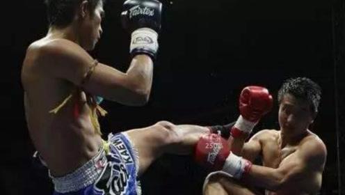 泰拳王考霸气一腿,直接将日本猛将暴力KO!