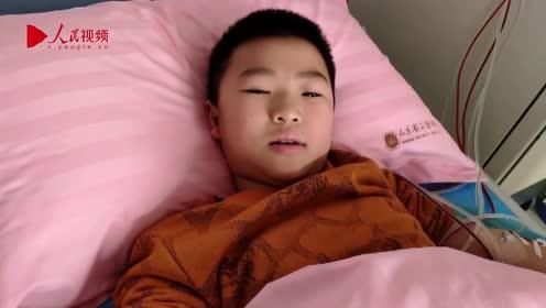 10岁男孩增肥救父后想减肥10斤,梦想当医生减轻病人痛苦