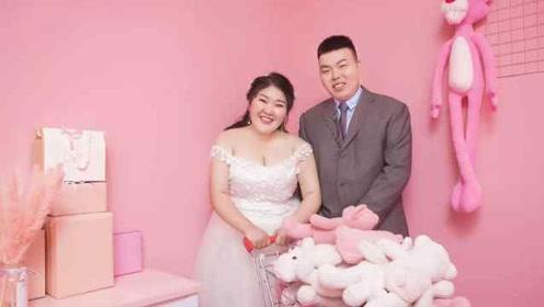 """216斤女孩嫁给""""李大嘴"""":想减肥给他生娃"""
