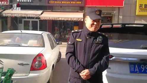 城管执法人员巡查捡到现金和苹果手机 联系公安物归原主