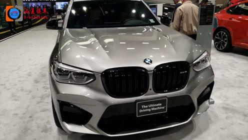 2020宝马X3M顶配猛降8.6万 售38.98-47.98万元,秒杀奔驰GLC
