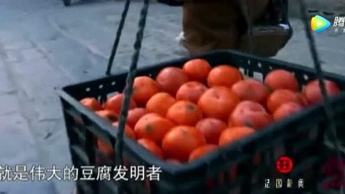 《舌尖上的中国》用新黄豆磨制出来的石膏  向来最受欢迎