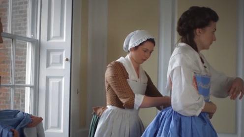 这才是精致的女生该有的,欧洲贵族少女出门流程,光穿衣服就要半个小时