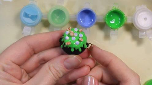 微世界DIY:微型万圣节罐子