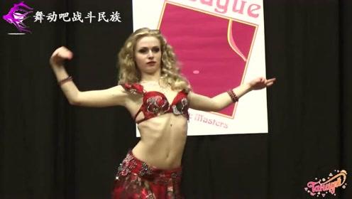 """不愧是乌克兰舞蹈学院的""""校花""""!女孩一上场,就""""艳压群芳""""了"""