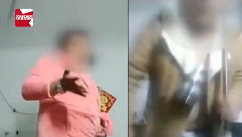 辣眼睛!51岁大叔穿女装做主播拍小视频:衣服全是偷的