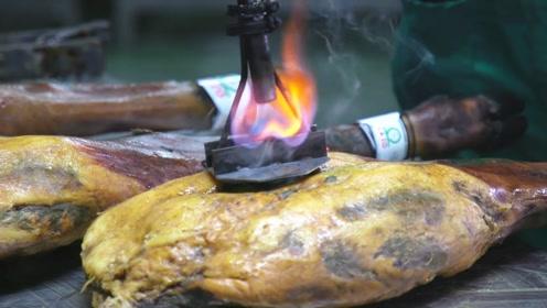为什么西班牙的火腿世界最贵?看到师傅拿起铁烙的瞬间,我明白了