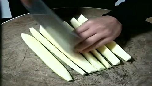 小瓜最简单实用的切法,大厨这技术,一般不外传!