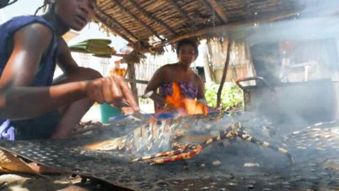 """非洲人吃的有多""""豪""""?看完这菜市场,颠覆自己的想象!"""