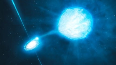 宇宙中的吸血鬼恒星,与僵尸行星合二为一,专门吞噬其他恒星!