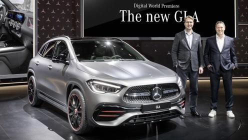 将提供插混与纯电车型 全新奔驰GLA将于2020年上市