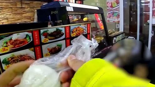 老伯上海务工两天没吃饭 求助交警获暖心帮助