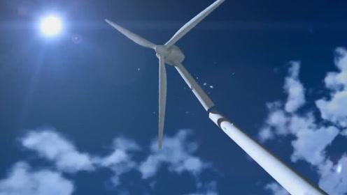 风力发电机叶片转得那么慢,为什么发电量还如此巨大?可算知道了
