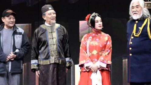 最强回忆杀!时隔四十年,刘晓庆与唐国强再次同框合作,满满的年代情怀