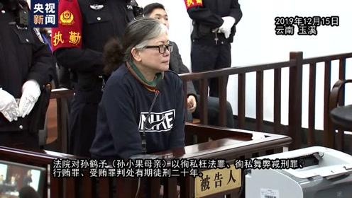 独家视频丨判了!继父19年母亲20年 19名涉孙小果案被告人一审宣判