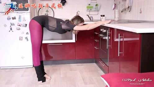 """""""肌肉腿""""怎么办?俄罗斯健身达人:踮脚尖就能解决"""