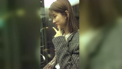 杨洋绯闻女友乔欣对我笑了,挺可爱的一个姑娘!