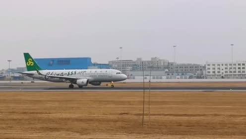 桃仙机场边上近距离看飞机起飞,大机场各种航空公司,好多型号