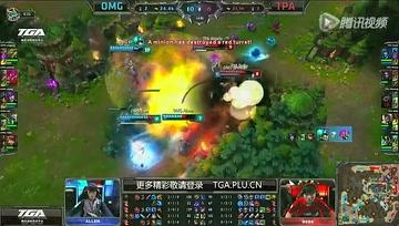 OMG vs TPA 2014全明星赛小组赛(第一日)
