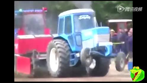 看完就知道拖拉机推土机哪家强