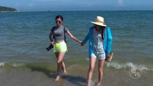 """蓝天白云 大海浪花 沙滩美女 东山岛马銮湾就是福建""""夏威夷"""""""