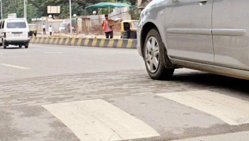 """适得其反!减速带成印度""""马路杀手"""""""