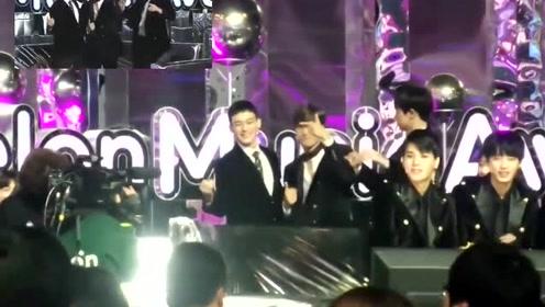 2017MMA小萝莉罗夏恩舞蹈翻跳,观众席EXO女团魂燃起