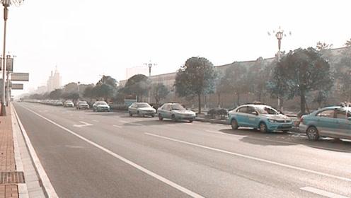 湖南用气告急 出租车排队数公里加上气需等三小时