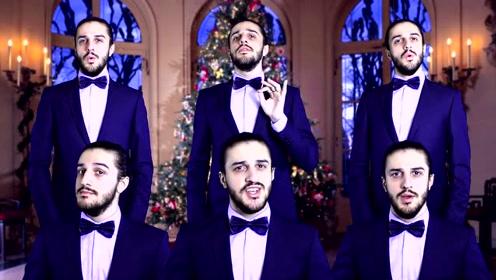 国外小伙纯人声演绎Christmas Song《Amazing》